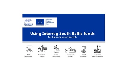 Source: South Baltic Programme Newsletter January 2017