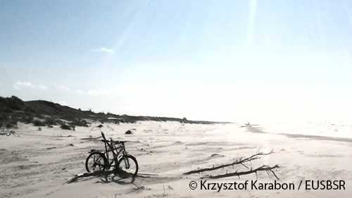Czolpino on a beach, Poland © Krzysztof Karabon / EUSBSR (Internal link: Go to current activities)